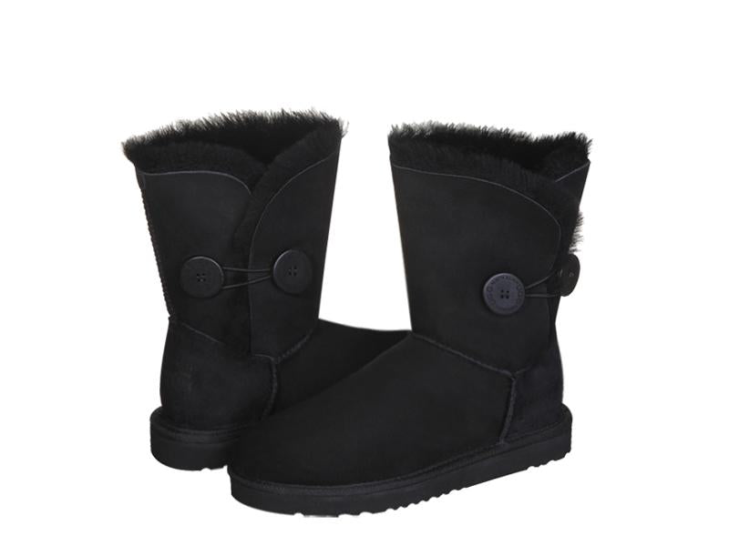 CLASSIC BUTTON SHORT boots. Made in Australia. FREE Worldwide Shipping.