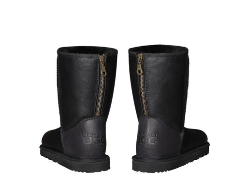 NAPPA SHORT ZIPPER boots. Made in Australia. FREE Worldwide Shipping.