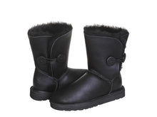 Load image into Gallery viewer, NAPPA BUTTON SHORT boots. Made in Australia. FREE Worldwide Shipping.