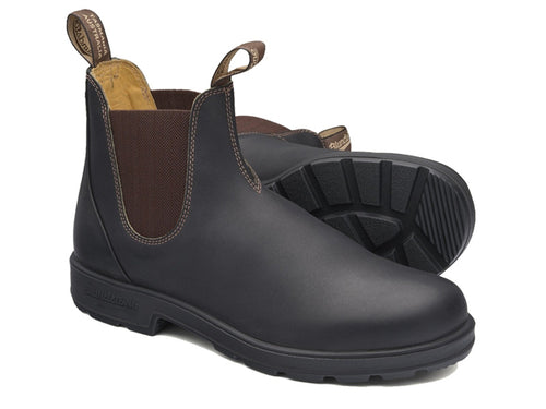 BLUNDSTONE 600 Leather Boots Brown. FREE Worldwide Shipping.