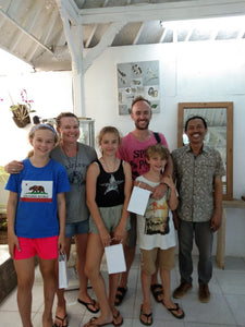 FAMILY GROUP OF 4 DEAL Workshop 2 adults & 2 children (under 16) - 815.000rp per person