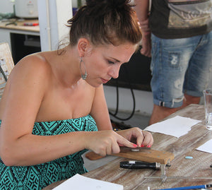 Gemstone Setting Workshop - Full Day Class (6 hours with lunch) 1.500.000rp per person