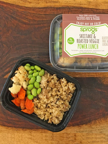 Shiitake & Roasted Veggie Power Lunch -- Pack of TWO (2)