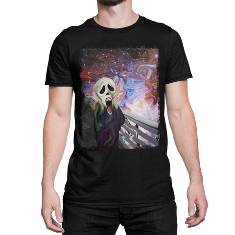 Space Art Munch Scream