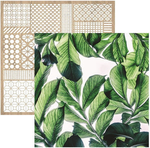 "Havana Nights Double-Sided Cardstock 12""X12"" Lush"