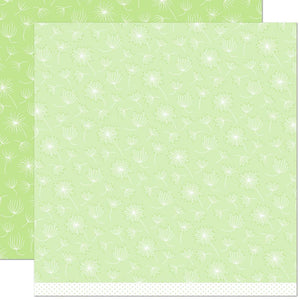 "Lawn Fawn Dandy Day Double-Sided Cardstock 12""X12 Be Humble"
