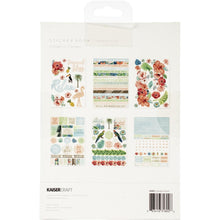 "Load image into Gallery viewer, Kaisercraft Sticker Book 6""X8"" 12/Pages Paradise Found, 6 Designs/2 Each"