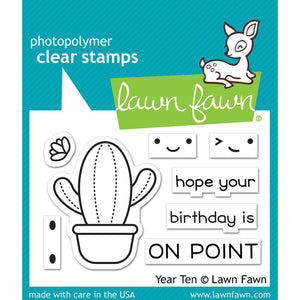 "Lawn Fawn Clear Stamps 3""X2"""