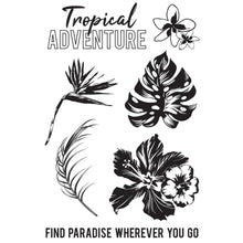 "Load image into Gallery viewer, Paradise Found Clear Stamps 6""X4"""