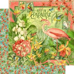 Lost In Paradise Double-Sided Cardstock 12