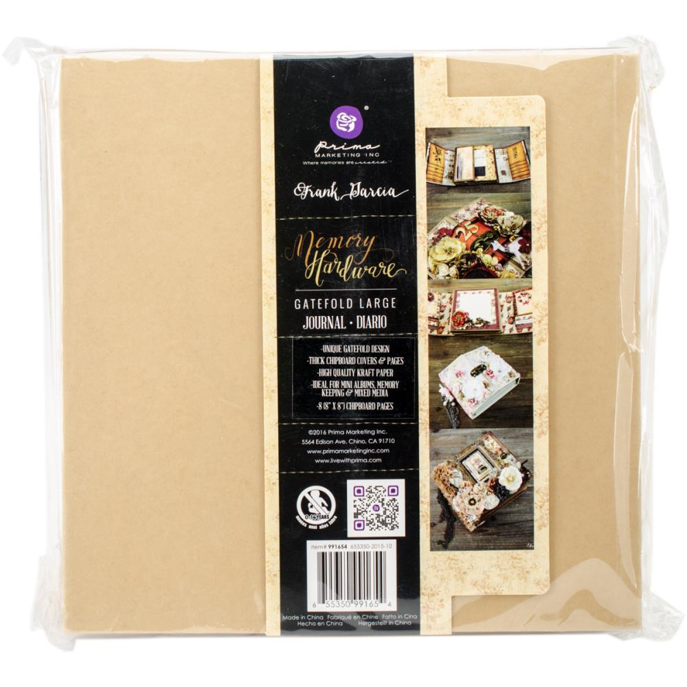 Prima Memory Hardware Chipboard Album 8.5