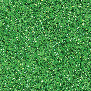 "Glitter Silk Cardstock 12""X12"" Green Sheen"