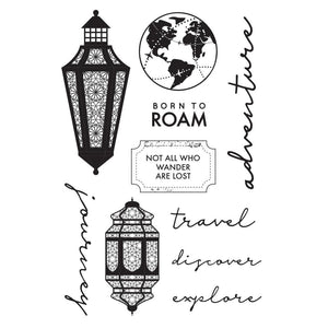 "Journey Clear Stamps 6""X4"""