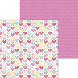 "Made With Love Double-Sided Cardstock 12""X12"" Heartwarmer"