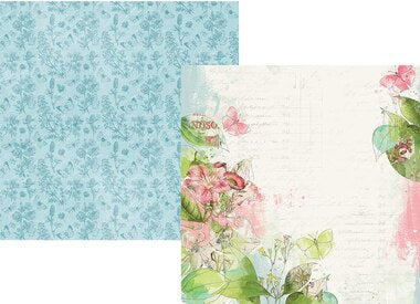 Simple Vintage Botanicals Double-Sided Cardstock 12