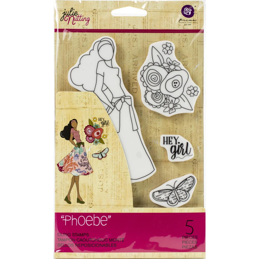 Prima Marketing Julie Nutting Mixed Media Cling Rubber Stamp