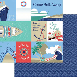 "Set Sail Double-Sided Cardstock 12""X12"""