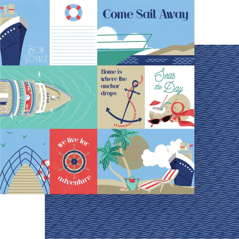 Set Sail Double-Sided Cardstock 12