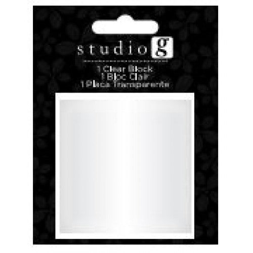 Studio G Clear Block