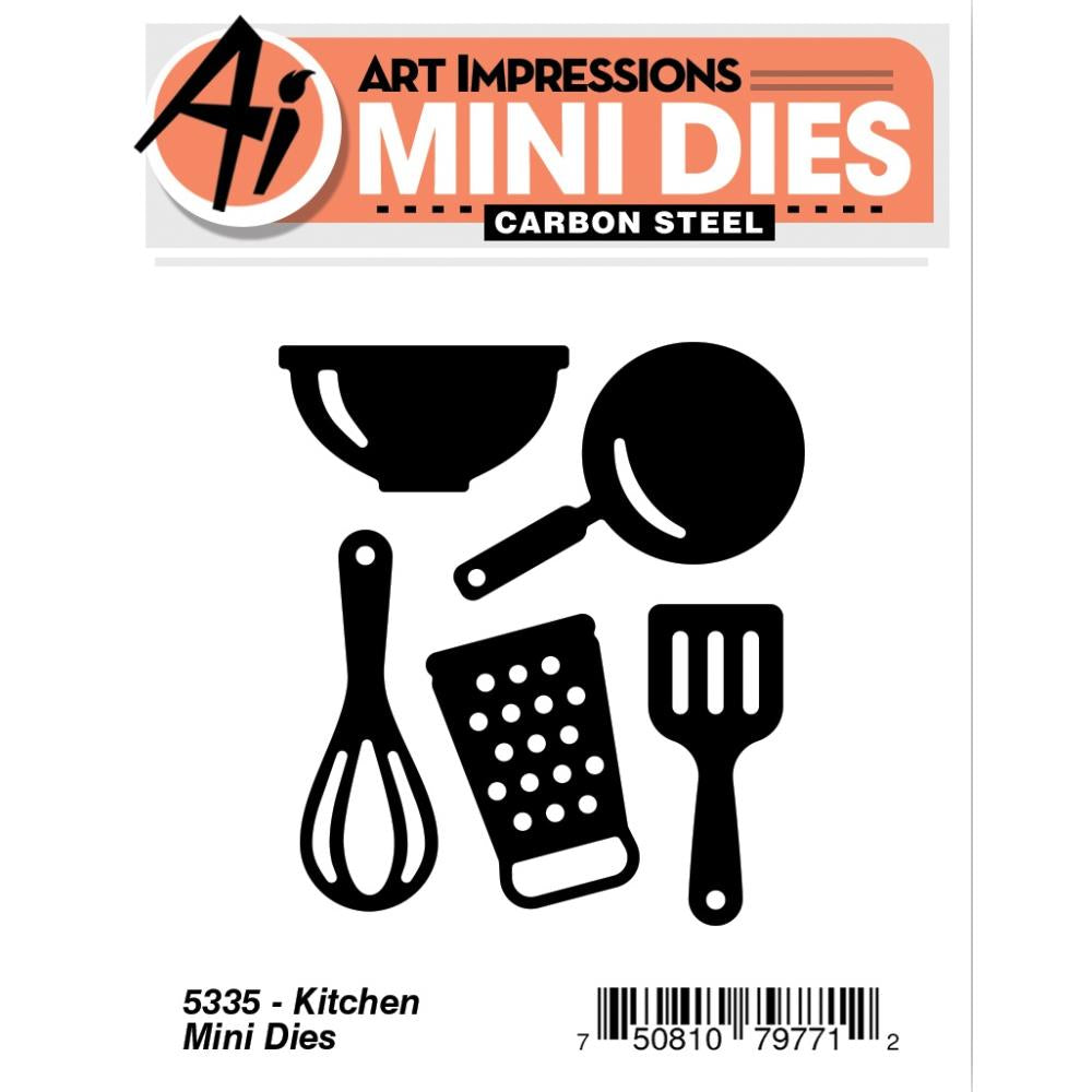 Art Impressions Mini Dies Kitchen