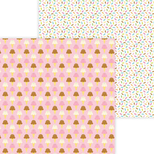 "Hey Cupcake Double-Sided Cardstock 12""X12"""