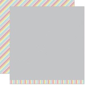"Lawn Fawn Hello Sunshine Double-Sided Cardstock 12""X12"" Stella Remix"