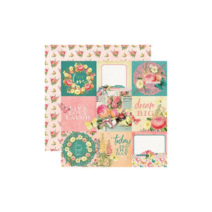 Simple Vintage Garden District Double-Sided Cardstock 12""