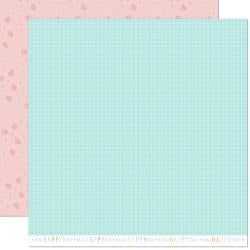 "Lawn Fawn Hello Sunshine Double-Sided Cardstock 12""X12"" Mae Remix"
