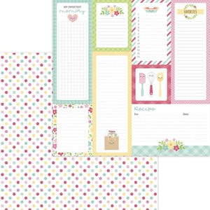 "Made With Love Double-Sided Cardstock 12""X12"" Sugar Sprinkles"
