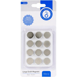 Tonic Studios Large Craft Magnets 15mm 6/Pkg