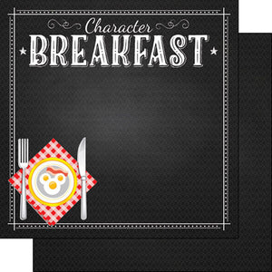 CHARACTER BREAKFAST PLATE PAPER