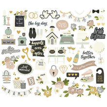Load image into Gallery viewer, Happily Ever After Bits & Pieces Die-Cuts 60/Pkg