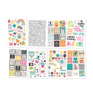 SIMPLE STORIES: Oh Happy Day - 4x6 Sticker Sheet