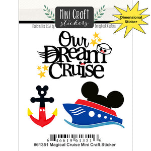 MAGICAL CRUISE MINI CRAFT STICKER