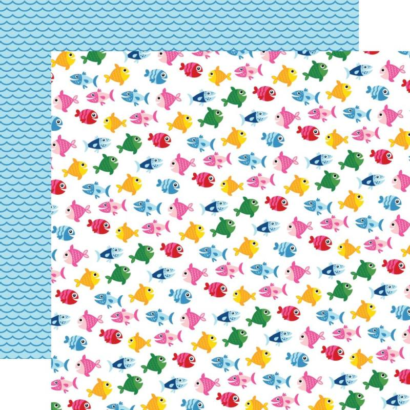 I Love Summer Double-Sided Cardstock 12
