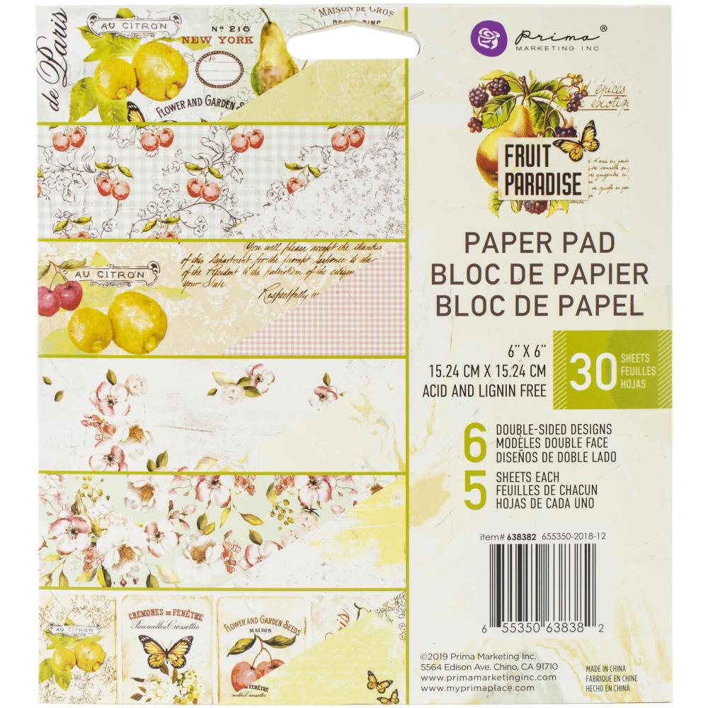 Prima Marketing Double-Sided Paper Pad 6