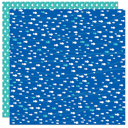 Splash Zone Double-Sided Cardstock 12