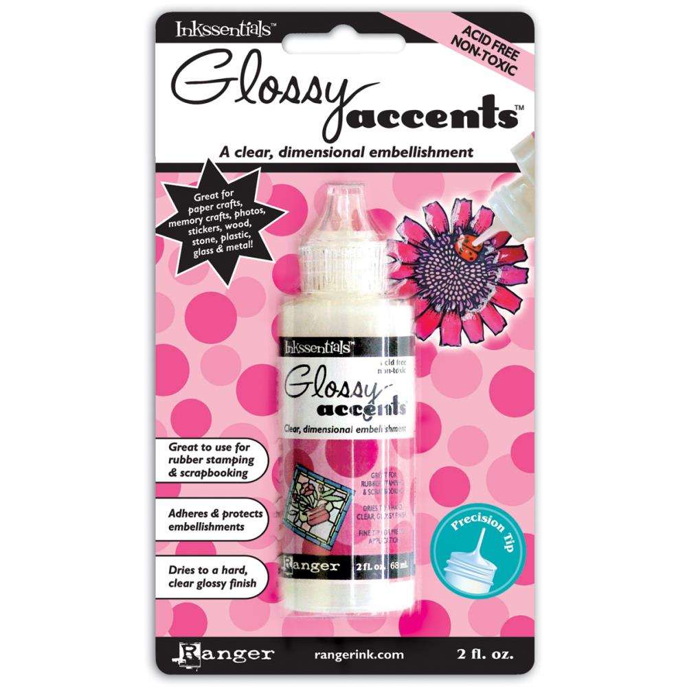 Ranger Inkssentials Glossy Accents 2oz
