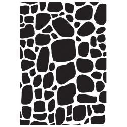 "Kaisercraft Embossing Folder 4""X6"" Cobblestone"