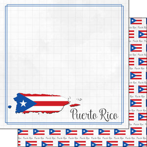 PUERTO RICO ADVENTURE BORDER PAPER