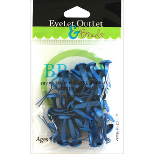 Eyelet Outlet Round Brads 8mm 40/Pkg Dark Blue