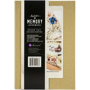 "Prima Memory Hardware Chipboard Album 9""X6.25""X2.75"""