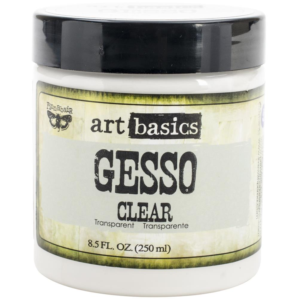 Finnabair Art Basics Gesso 8.5oz Jar Clear