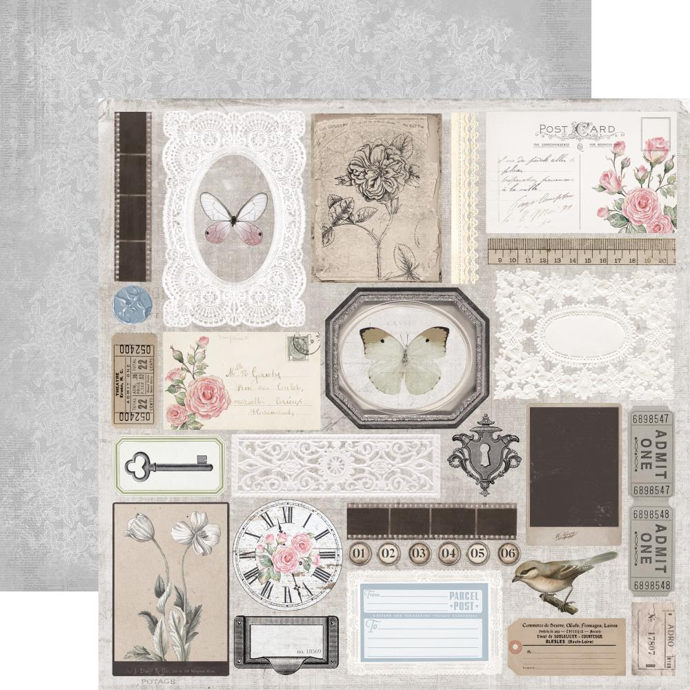 Lady Like Double-Sided Cardstock 12