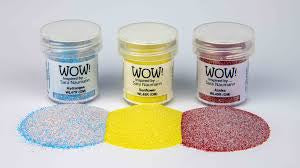 Wow Trio Embossing Powders Parc Floral