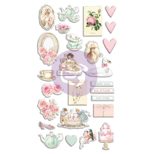 With Love By Frank Garcia Puffy Stickers 26/Pkg