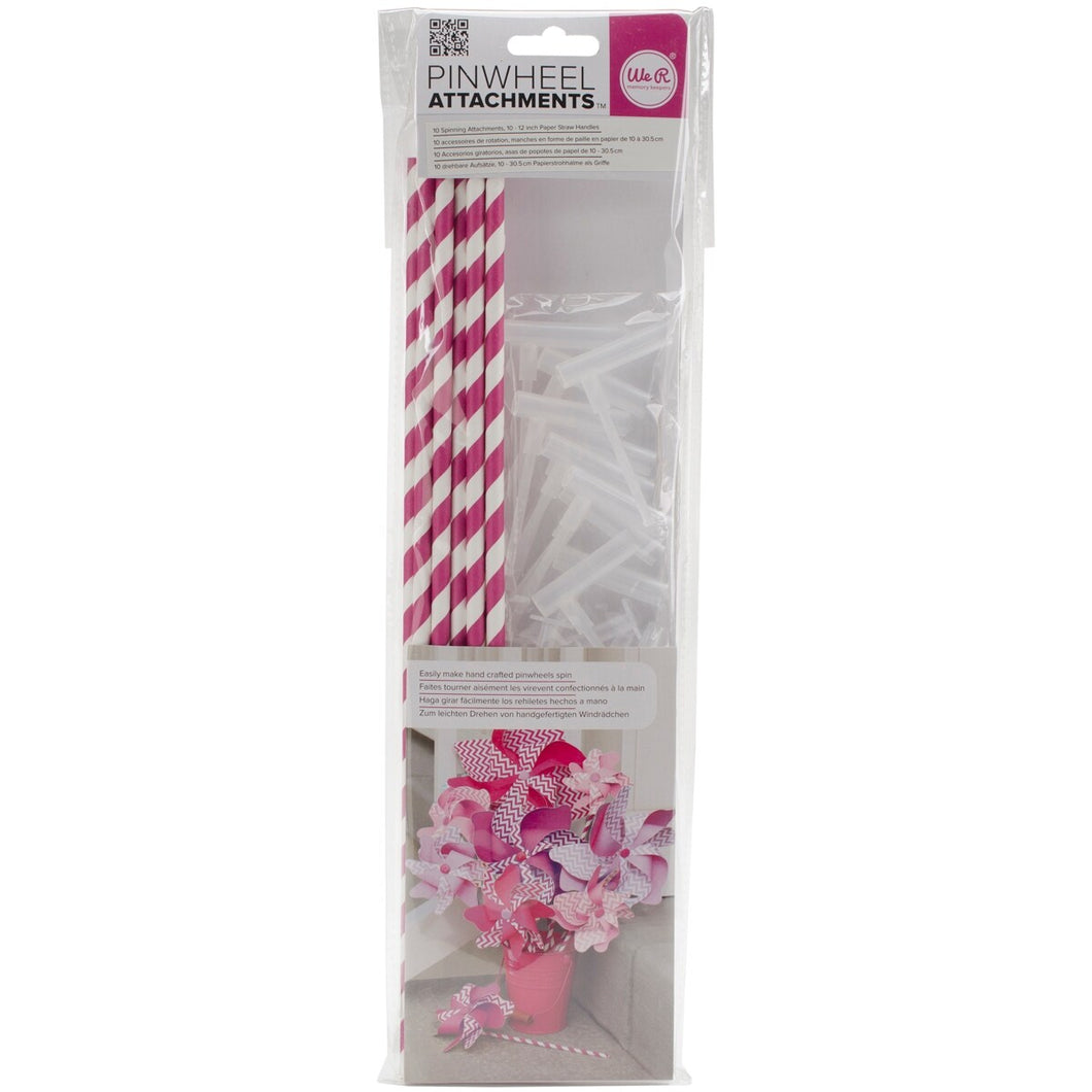 We R Memory Keepers Pinwheel Attachments, Fuchsia
