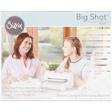 Load image into Gallery viewer, Sizzix Big Shot Plus Machine Only (White & Gray) Item #660340