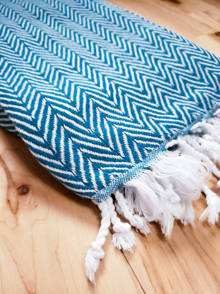 Chevron Oversized Towel
