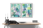 Plakat - Abstract Squares - posterart.dk